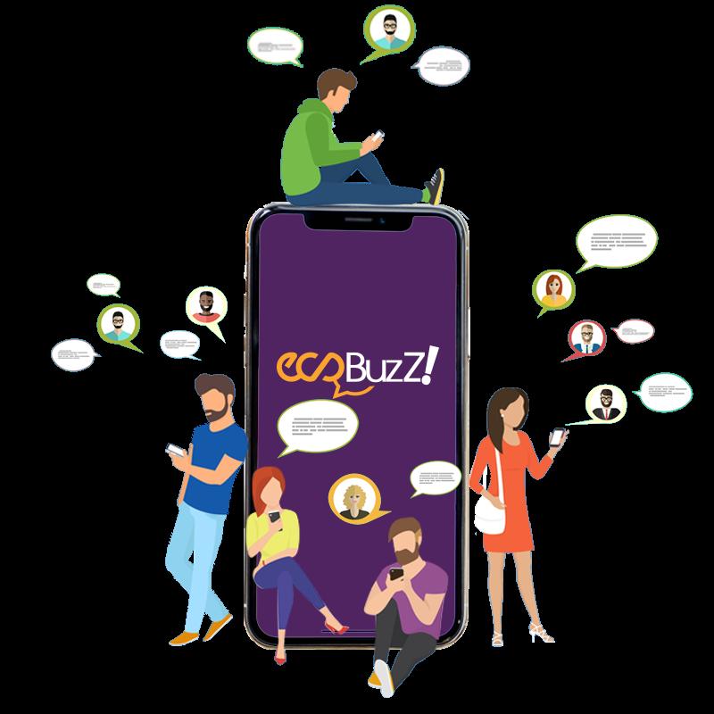 Ecobuzz チャットアプリケーション