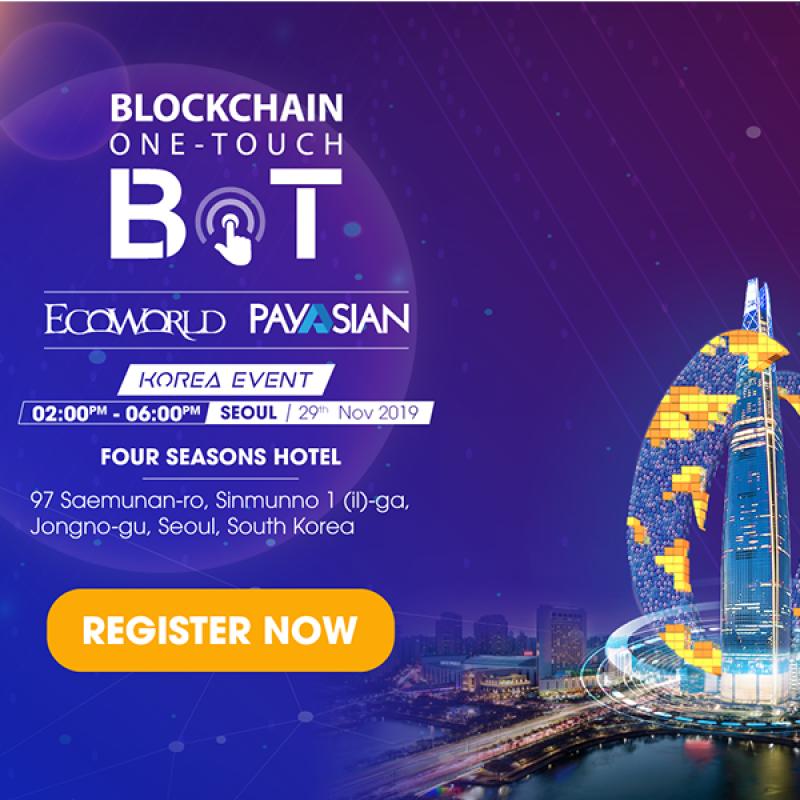 区块链一键式-Ecoworld和Payasian的区块链技术应用解决方案和投资机会