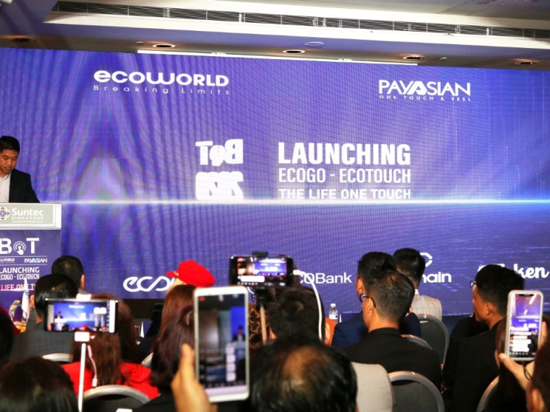 """The event """"The life one touch"""" received a lot of press coverage"""